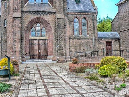 Oude Pekela, Netherlands, Church, Building, Faith