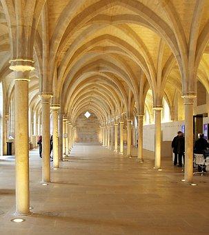 Paris, France, Abby, Church, Religion, Faith, Catholic