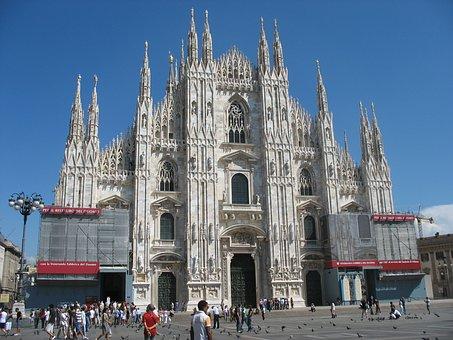Milan Cathedral, Milan, Cathedral, Duomo Di Milano