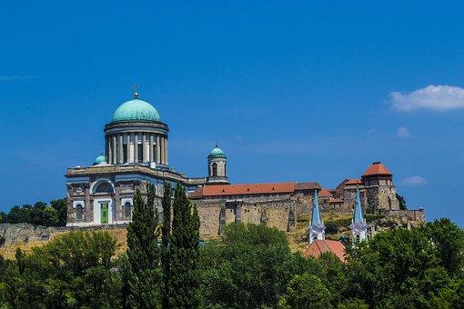 Basilica, Castle, Hungarian, Church, Mountain