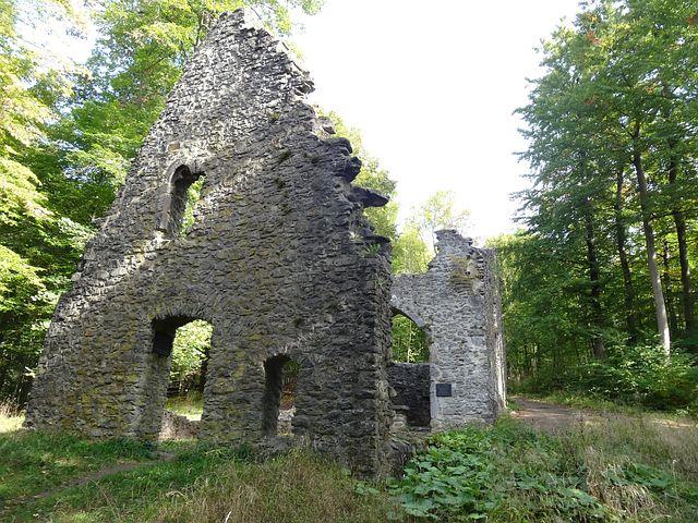 Ruthardshausen, St Veltin, Ruined, Church, Abandoned