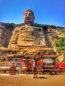 Shanxi, Taiyuan, Monsanto Buddha