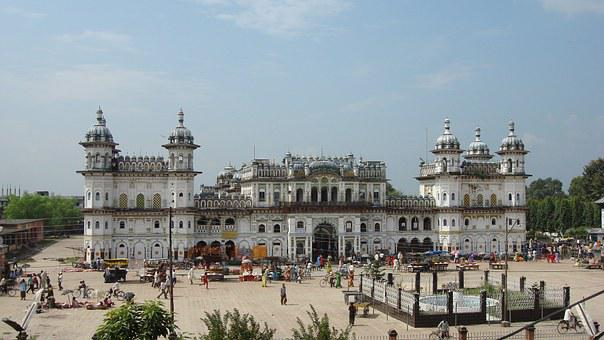 Janaki Temple, Temple, Building, Architecture, Jankpur