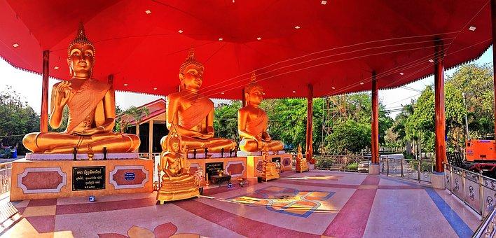 Temple Nophaket, Bangkok Pathum Wan, Thailand