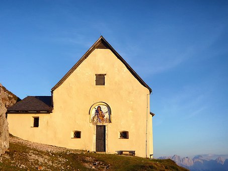 Bad Bleiburg, Austria, Church, Building, Landscape