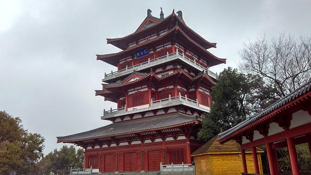 China, Building, Chinese Ancient Architecture, Eaves