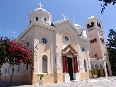 Greece, Kos Island, Church