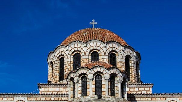 Greece, Volos, Ayios Nikolaos, Cathedral, Church