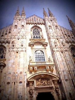 Church, Milan, Italy, Architecture, Building, Landmark