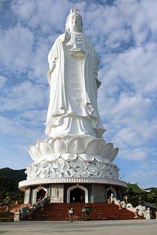 Buddha, Lady Buddha, Statue, Temple, Buddhism
