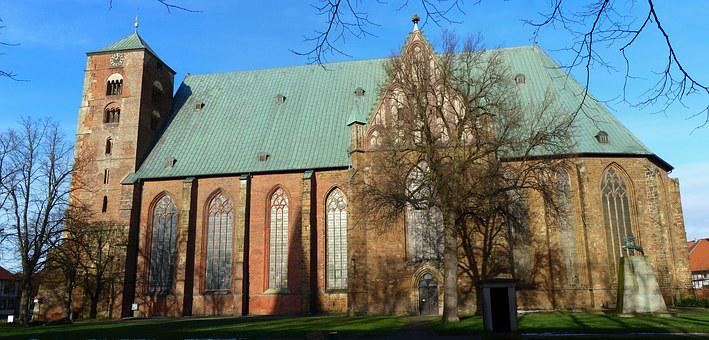 Verden Of All, Dom, Church, Equestrian City, Panorama