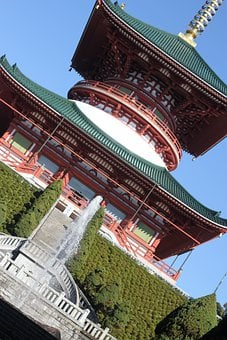 Japan, Temple, Narita, Zen, Architecture, Building