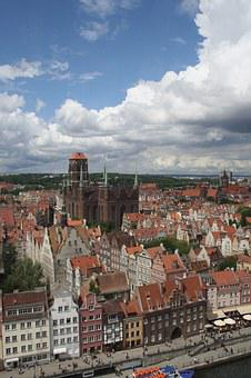 Gdansk, Mortlawa, History, Center, Sights, Church
