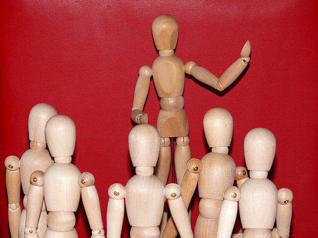 Lecture, Articulated Male, Figures, Speech, Fig, Group