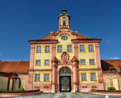 Germany, Althausen Castle, Althausen, City, Building