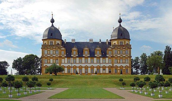 Seehof, Bavaria, Germany, Palace, Structure, Sky