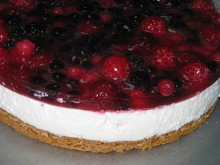 Odette, Cakes, Cheesecake, Desert, Berries