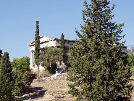 Athens, Thision, Greece, Landmark, Culture, Ruins, Old