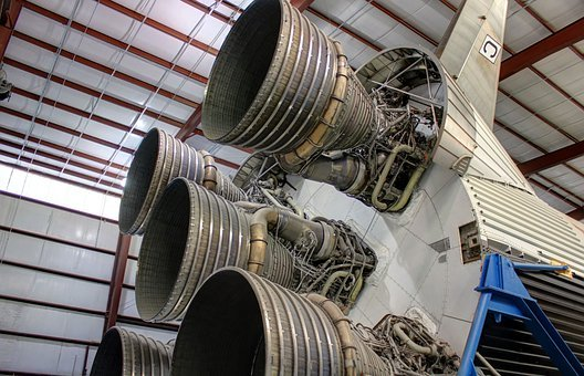 Rocket, Houston, Thrusters, Texas, Nasa, Usa
