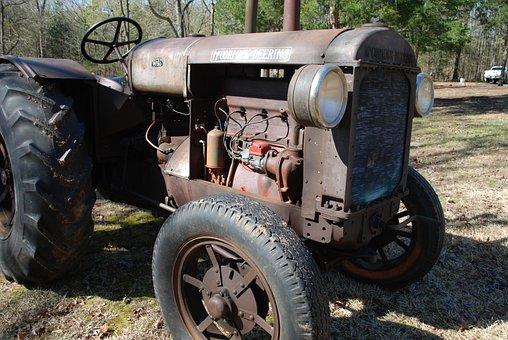 Mccormick Deering, Tractor, Antique, Rusty, Diesel