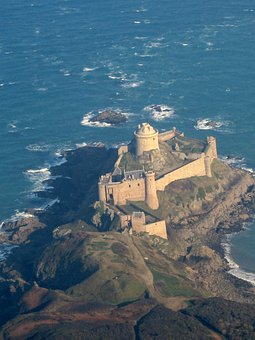 Fort Lath, Cap Fréhel, Brittany, Sea, Fortress