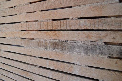 Wood, Lath, Wall, Old, Structure, Rustic, Uniform