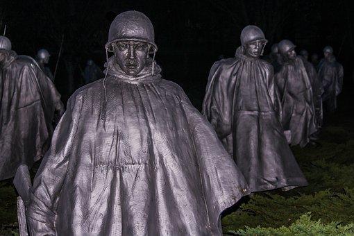 Korean Veterans Memorial, Washington Dc