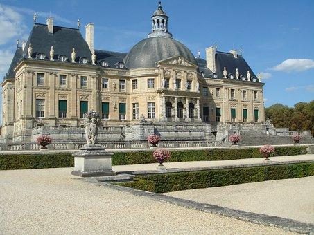 Château, Château De Vaux-le-vicomte, Maincy, Castle