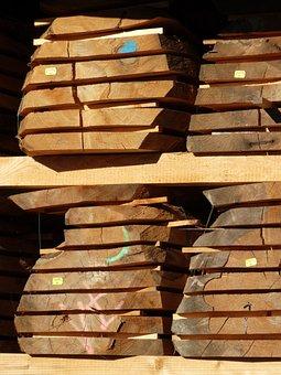 Lumber, Wood Panels, Sawmill, Sägeprodukt