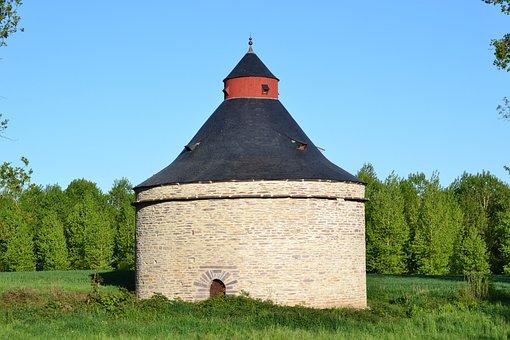 Tower, Stone Tower, Brocéliande, Forest Of Brocéliande