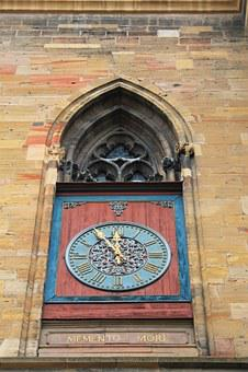 Clock, Death, Death Memorial, Memento Mori, Mortality
