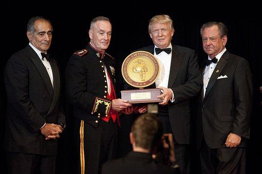Donald Trump John, Marine Corps Foundation, Commandants