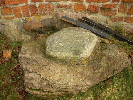 Medieval Castle, Detail, Archeology, Excavation