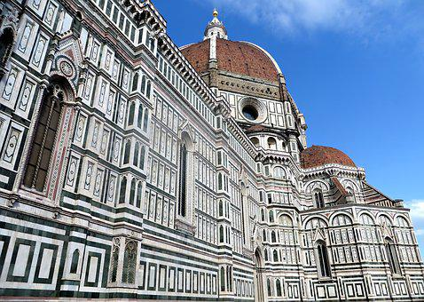 Florence, Duomo, Italy, Cathedral, Tuscany, Facade