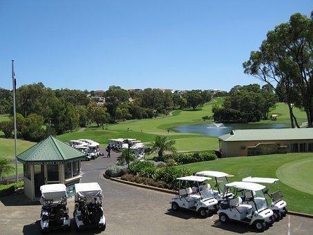 Golf, Golfing, Clubhouse, Golf Course, Club, Golfer