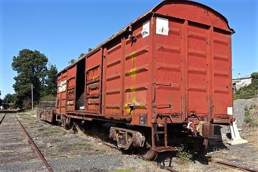 Carriage, Train, Railroad, Rail, Transport, Railway