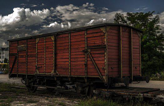 Railway, Dare, Railway Carriages, Rail Traffic