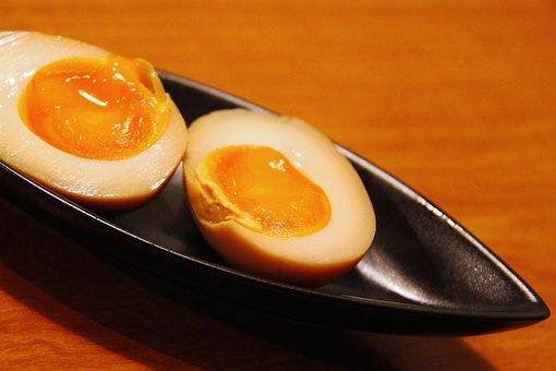 Soft, Boiled Egg, Dinner, Japanese, Soft Boiled Eggs
