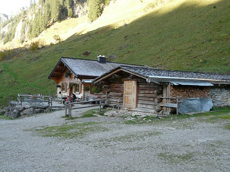 Dieter Bach Alpe, Alpe, Hut, Mountain Hut, Alm, Allgäu