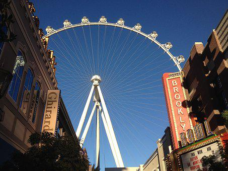 Vegas, City, Architecture, High Roller
