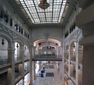 Madrid, Spain, Communications Palace, Building