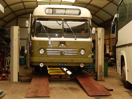 Bus, Restored, Museum Ouwsterhaule, Been Bus