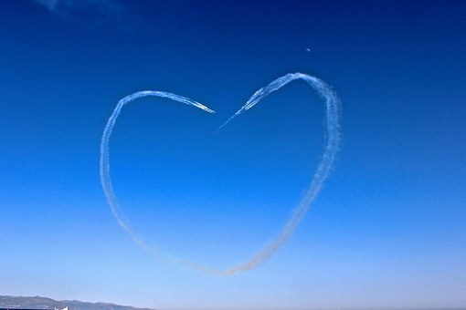 Solidarity, Heart, Love, Painting In The Sky