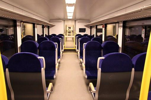 Arriva Spurt, Train, Interior, Seating, Netherlands