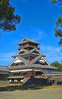 Japan, Kumamoto, Castle, Uto Tower