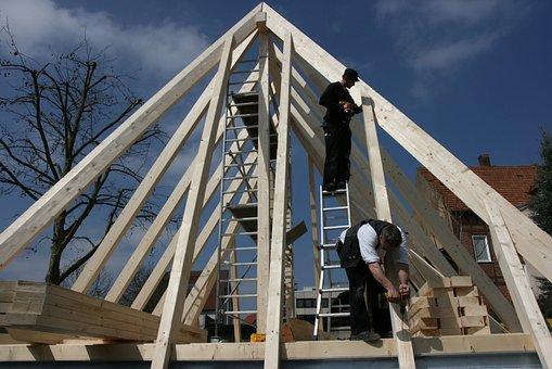 Zimmermann, Restoration, Roof, Germany, Bretten
