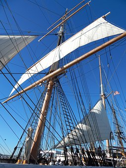 Ship, Sail, Sailing, Boat, Age Sail, Mast, Rigging