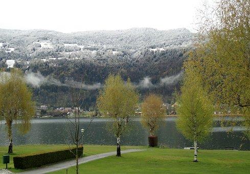 Carinthia, Austria, Spring, Winter Blast, Lake Ossiach