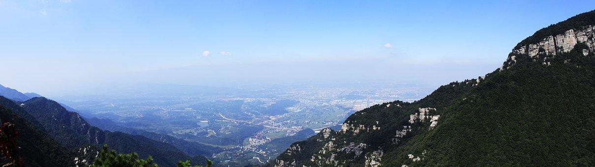 In Jiangxi Province, Lushan, Mountains