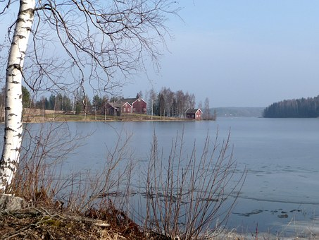 Archipelago, Spring, Lake, Tensile Bay, Water, Beach